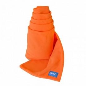 Orange Fleece Scarf Delta