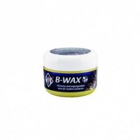 Recovery and impregnation wax for leather containing beeswax