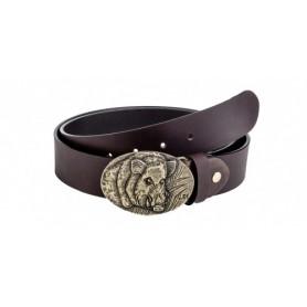 """Leather Belt """"Boar"""""""