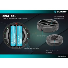 Olight OMNI-DOK Battery Charger