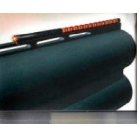 Laser sight for a shotgun