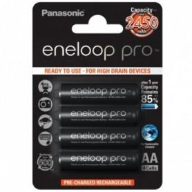 Panasonic Eneloop (4 pcs) R6 (AA) 1.2V 2450mAh Ni-Mh