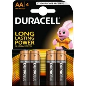Batteries Duracell R6 AA 1.5V 4pcs.