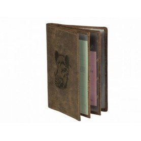 Leather Case For Documents GREENBURRY 328B-Wild Boar-25