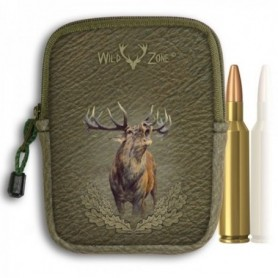 Camouflage Cartridge Holder with Deer Print (10 shots)