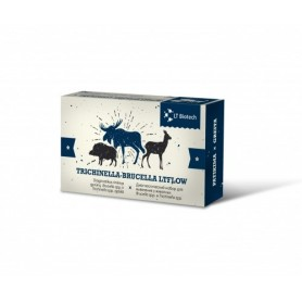 Diagnostic set for animal Trichinellosis and Brucellosis identification