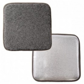 Seat Pad in Pure Wool