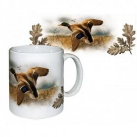 Ceramic Mug with Duck Print