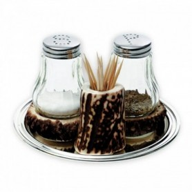 Set of Salt and Pepper Containers