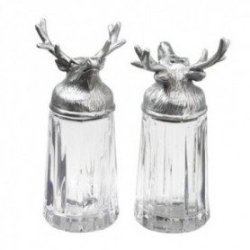 Salt and pepper container set