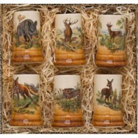 Ceramic shot set (6pcs)