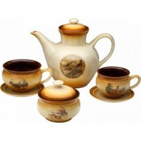 Ceramic Tea set (14 pcs)