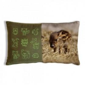 Cushion with Baby Boar Print (35x20 cm)