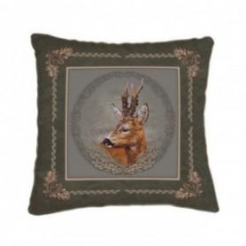 Cushion with Roe Deer Motif (42x42)