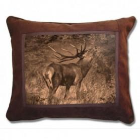 Cushion with Deer Print (43x37 cm)