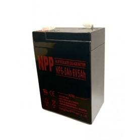 NPP rechargeable 6V Battery 5 Ah