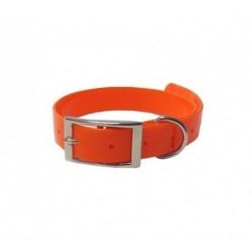 Biothane Biogold Dog Collar orange GO45019