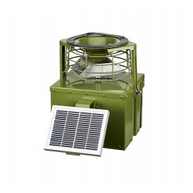 Automatic Metal Game Feeder HUNTERA 12V with Solar Panel
