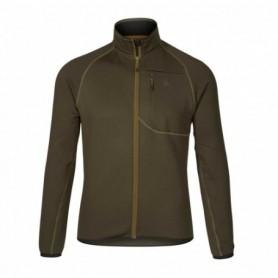 Jumper Seeland Hawker full zip fleece (Pine green)