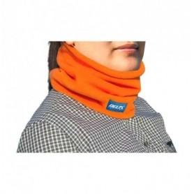 Orange fleece bandana Delta