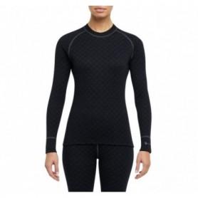 Underwear L/S shirt Lady Thermowave Merino Xtreme (Black)