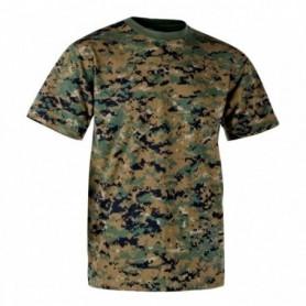 T-shirt helikon USMC Marpat