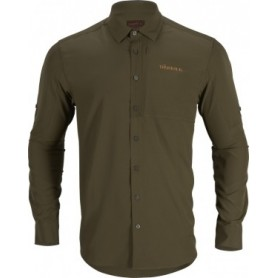 Harkila Trail L/S Shirt (Willow green)