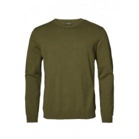 Sweater Chevalier Gaup Cotton Men RN Green