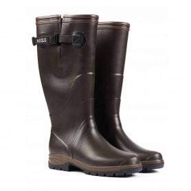 Rubber boots AIGLE TERRA PRO Vario Brown