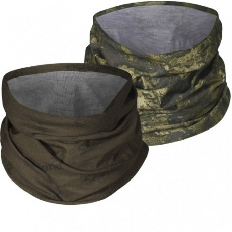 Neck Gaiter Seeland 2-Pack Pine Green/InVis Green