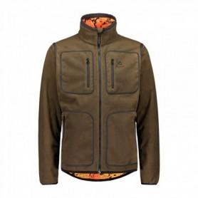 Fleece Jacket Alaska Elk Hunter Ms Reversible